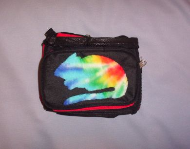 Rainbow Print Rat Fanny Pack