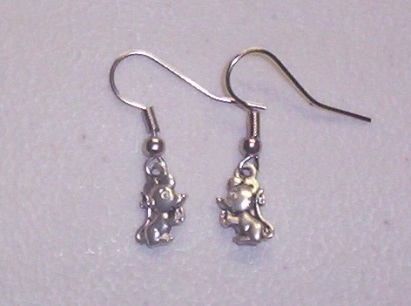 Little Silver Rattie Earrings