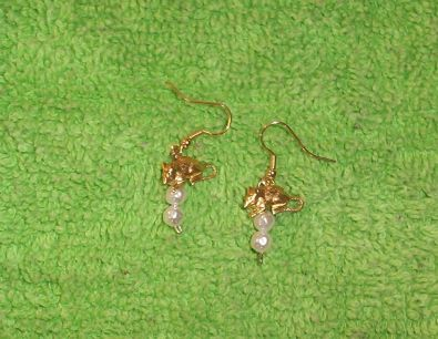 Rats & Pearls Earrings