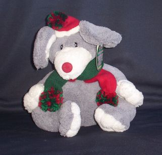 Santa Mouse Stuffed Animal