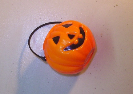 Mini Pumpkin for trick training